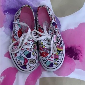 Unicorn donut shoes